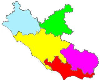 The province in Lazio